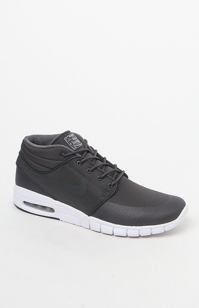 Stefan Janoski Max Mid Anthracite Shoes