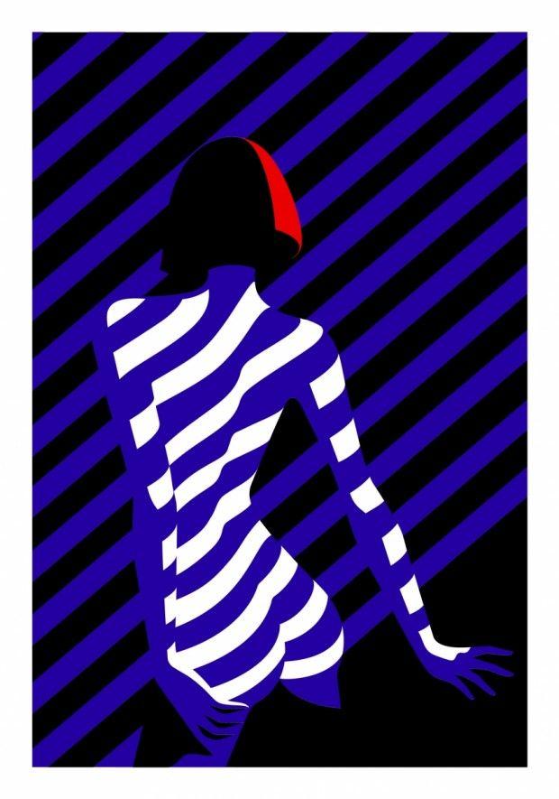 Le Loopy, exposition de 11 sérigraphies de Malika Favre chez Define Editions