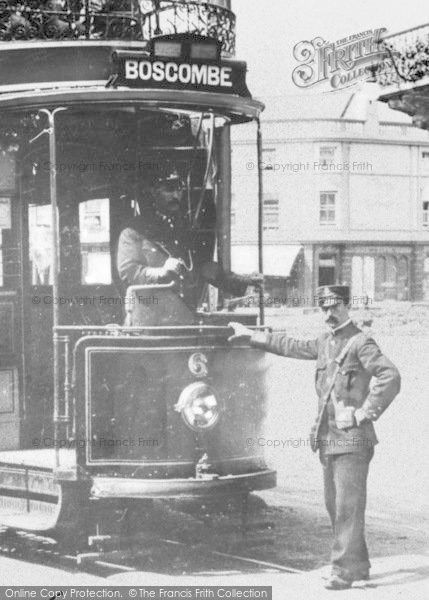 Bournemouth, Lansdowne, Bus Conductor c.1905 #onthebuses #transport