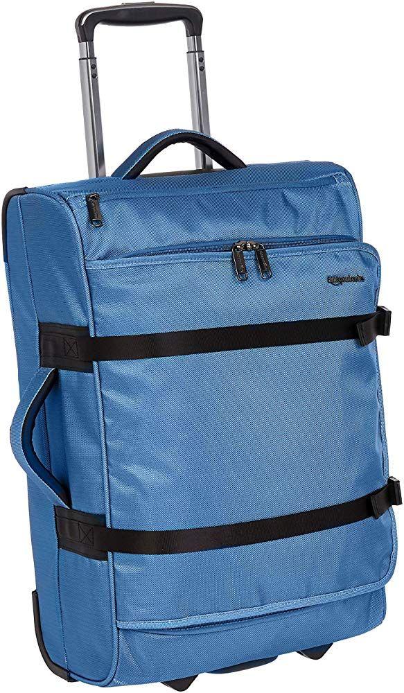 AmazonBasics Francis Wheeled Duffel, Blue