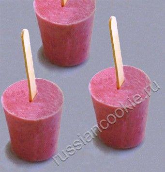 домашнее фруктовое мороженое