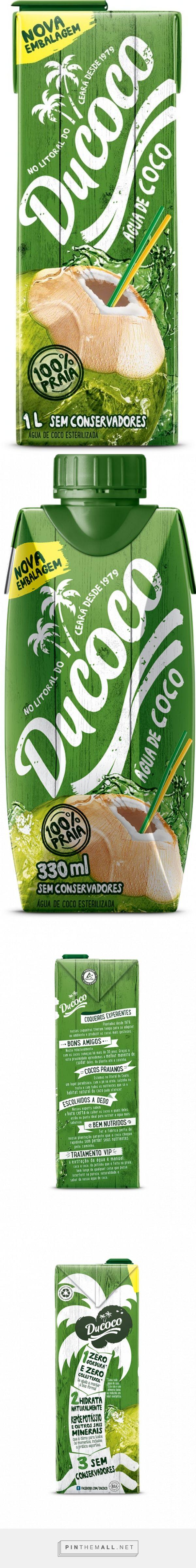 Ducoco | água de coco | #packaging #design