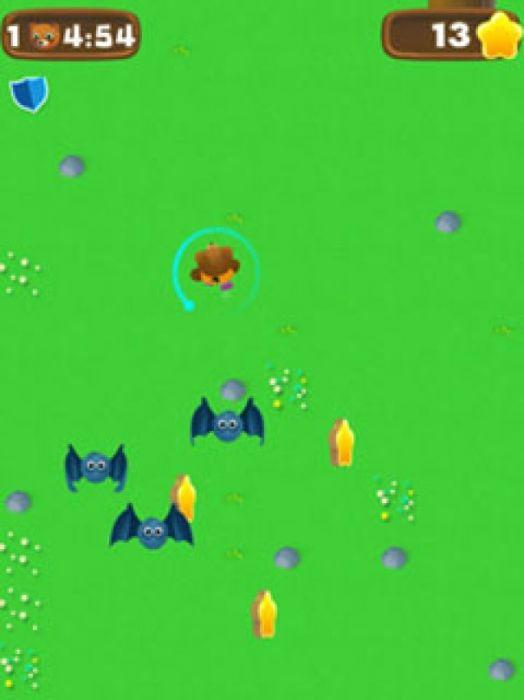 Помогите милый плюшевый безопасно ходить по лесу Лесные приключения одной из самых привлекательных и увлекательных игр. Защитите плюшевый, избегая других животных в лесу, шипы на землю и попадания револьверного ворот. Используйте золото, которое вы собирать на своем пути, чтобы продолжить игру, когда вы теряете или купить бустеров