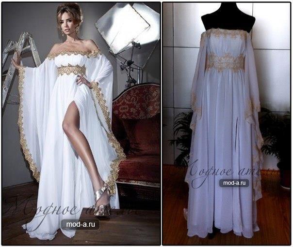 Сшить платье фэнтези
