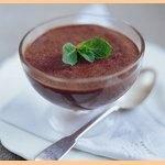 Mousse au chocolat - desert. Francouzská kuchyně