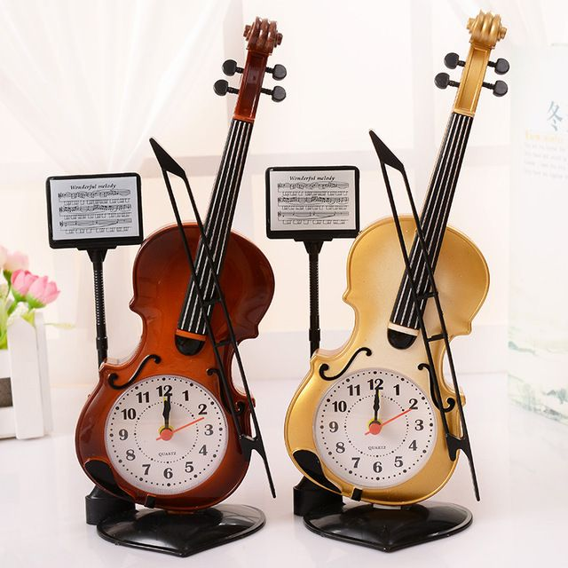 Special offer Elegant vintage style Violin Alarm Clocks Needdle round desktop Clocks for kids children birthday gift Violin Music Clock just only $7.68 with free shipping worldwide  #clocks Plese click on picture to see our special price for you