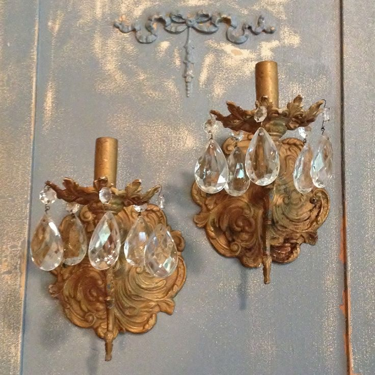 Crystal Bedroom Chandeliers Bedroom Furniture Za Bedroom Lighting Fixture Bedroom Decor Tumblr: I Have A Passion For Shabby Old Sconces! Available