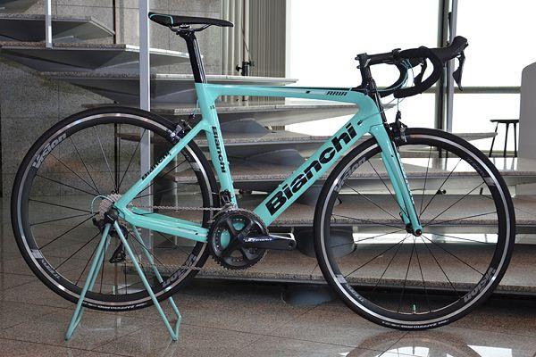 エアロロードバイク「アリア」が日本初披露 ビアンキが2018年モデルを発表 - cyclist