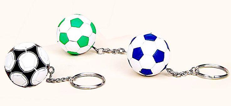 Llavero balón de fútbol 3 colores