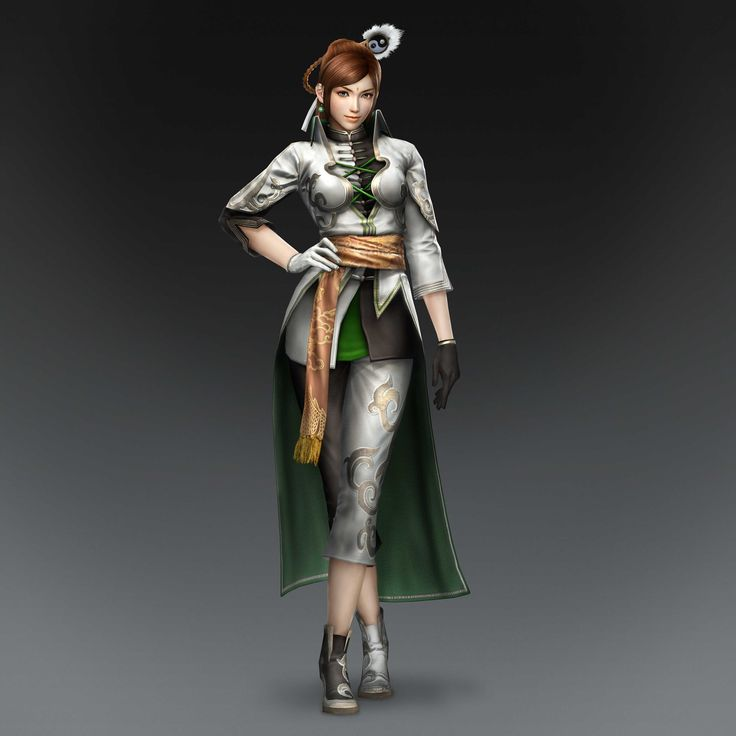 Female Character-Dynasty Warriors 8 Yueying Artwork