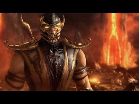 Mortal Kombat 9 - Scorpion vs Sub-Zero feat. Kratos (2011)