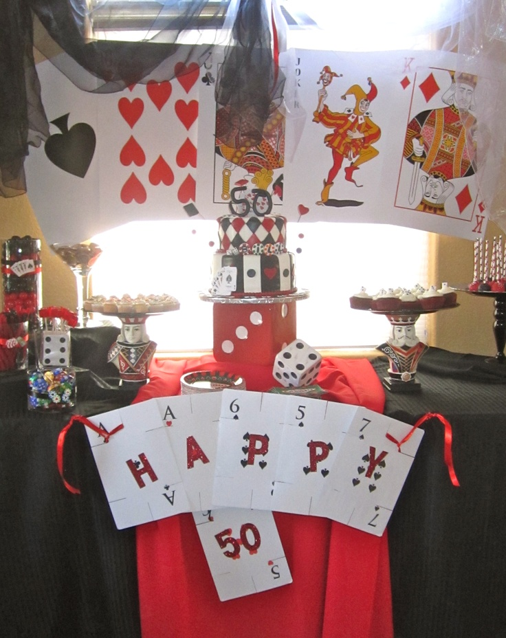 50th Birthday Casino Party