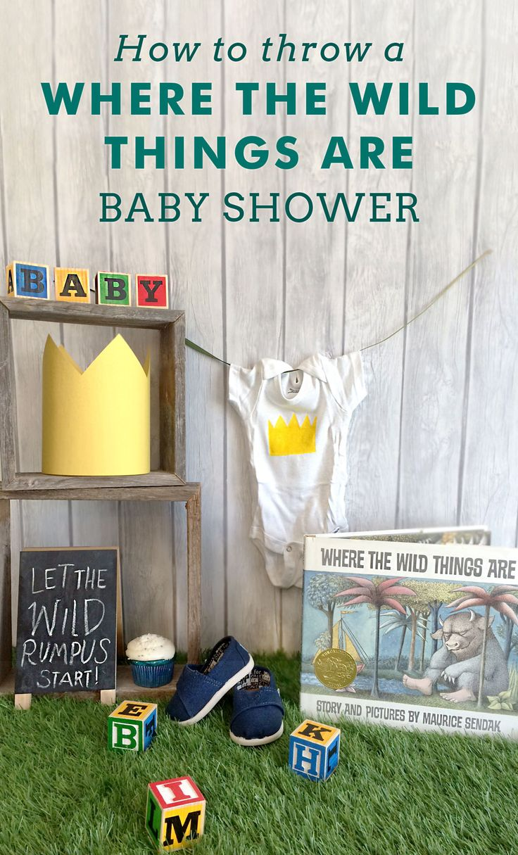 start with these 32 ways to bring the wild things to your baby shower
