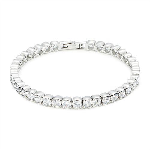Glanzvolles Tennisarmband Lume Leonardo 015799 http://www.thejewellershop.com/ #leonardo #jewelry #schmuck #tennisarmband #armband #zirkonia #bracelet