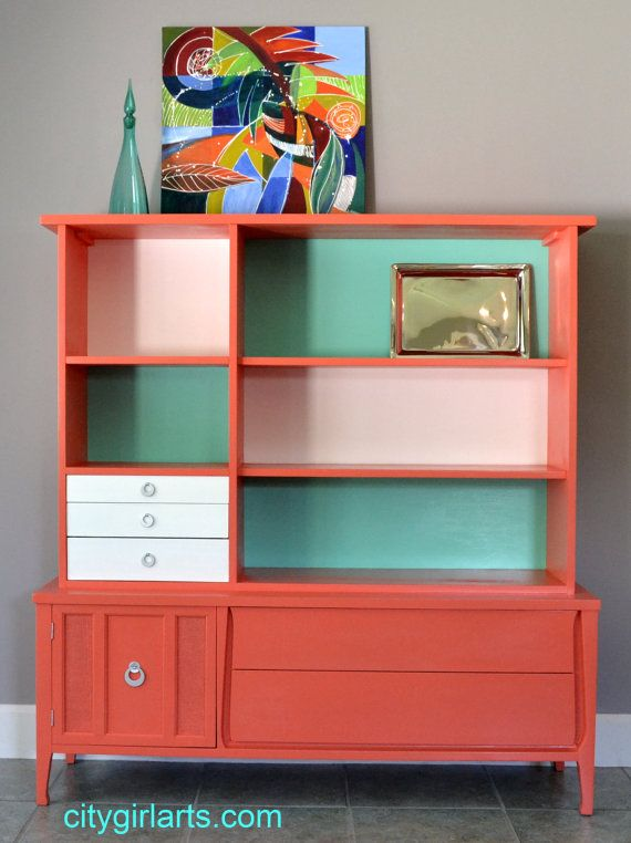Hey, I found this really awesome Etsy listing at https://www.etsy.com/listing/160093816/groovy-hutch-china-cabinet-bookcase-or