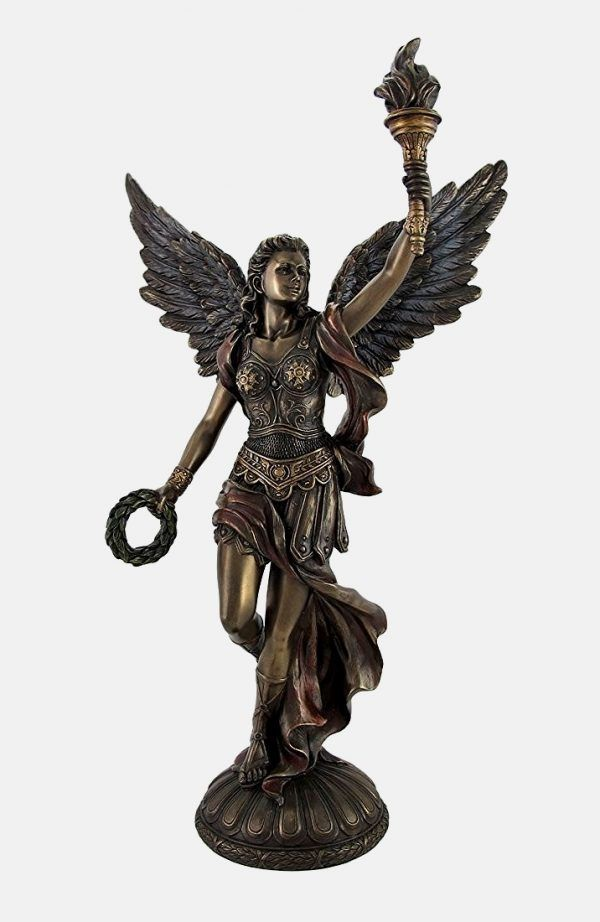 32 Powerful Statues Of Greek Gods Goddesses Mythological Heroes Nike Goddess Of Victory Greek Goddess Statue Goddess Statue