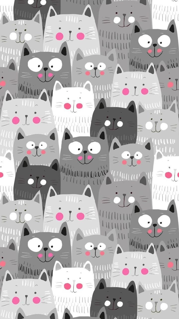 Download Cats Wallpaper By Titanio55 46 Free On Zedge Now Browse Millions Of Popular Cat Wallpapers Cat Pattern Wallpaper Pattern Wallpaper Cat Wallpaper