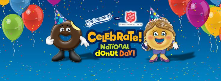 Enter Entenmann's Donut Sweepstakes and benefit the Salvation Army too Entenmann's National Donut Day Sweepstakes