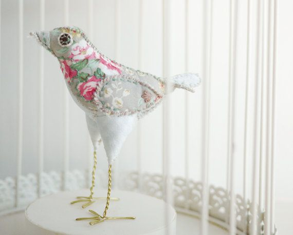 Damian Gray  Hand-made shabby chic vintage by 1000and1nightingales