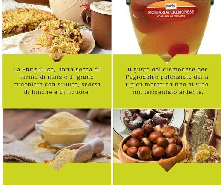 Il gusto del cremonese per l'agrodolce potenziato dalla tipica mostarda fino al vino non fermentato ardente, che abbina in un'armonica composizione la frutta e la senape.