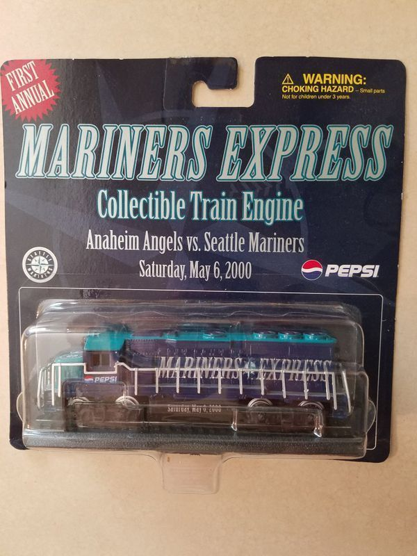 Seattle Mariners Collectible Train Pieces Set Of 4 Nip Ebay