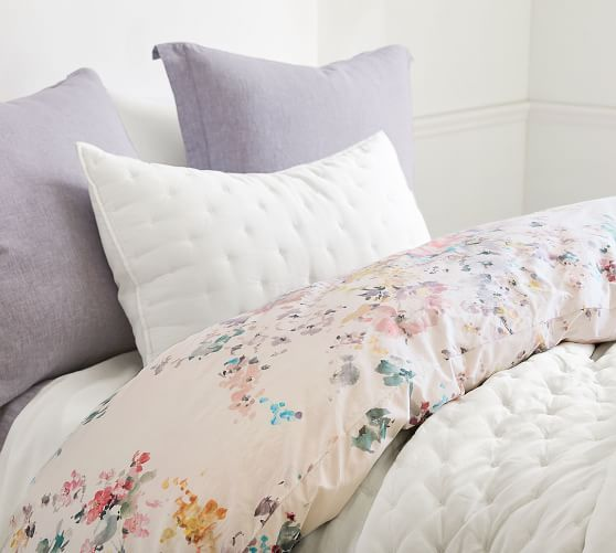 Kinsley Floral Organic Cotton Duvet Cover Amp Shams In 2020
