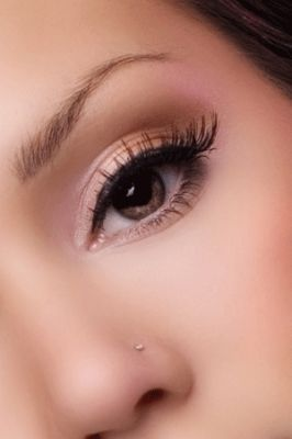 make up colors for brown eyes purple soft pink green