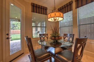 Elegant, classic and expansive designs - traditional - dining room - houston - by Silvan Homes