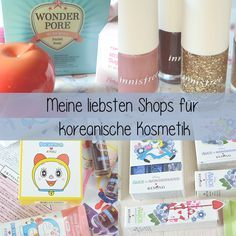 something♥beautiful: Koreanische Kosmetik Shops - Meine Favoriten
