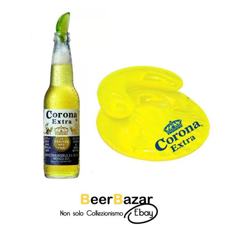 € 18,90 Poltrona gonfiabile + bottiglia gonfiabile Birra Corona Extra  Vedi altro su: http://stores.ebay.it/beerbazar