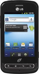 NET10 - LG Optimus Q No-Contract Mobile Phone - Black