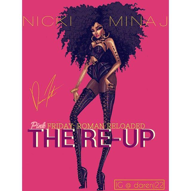 @nickiminaj The Nicki Minaj Eras, Pink Friday: Roman Reloaded The Re-Up Era by Daren J #NickiMinaj #PinkFridayRomanReloadedTheReup #PinkFridayRomanReloadedTheReupEra #style #instyle #fashion #fashionart #fashionillustration #fashiondesign #highfashionillustration #highfashionart #highfashion #highfashiondesign #design #illustration #art #glamart #glam #onika #nicki #harajukubarbie #glamorous #barbz #runwayready #instadesign #instafashion #darenj