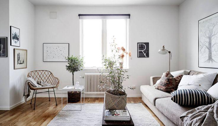 Huis vol neutrale tinten en designklassiekers