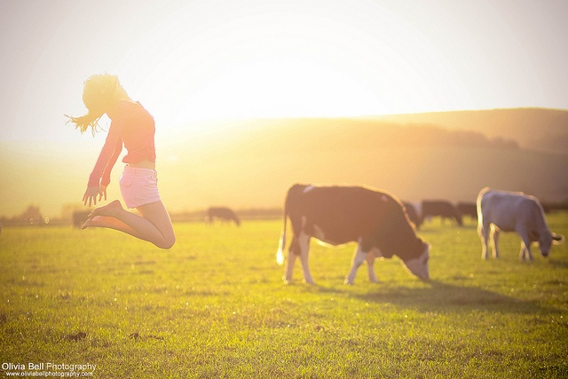 I'm a country girl, and that's how I like it :)