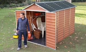 Groupon - Skylight Sheds £219.98-£549.98 With Free Delivery. Groupon deal price: £219.98