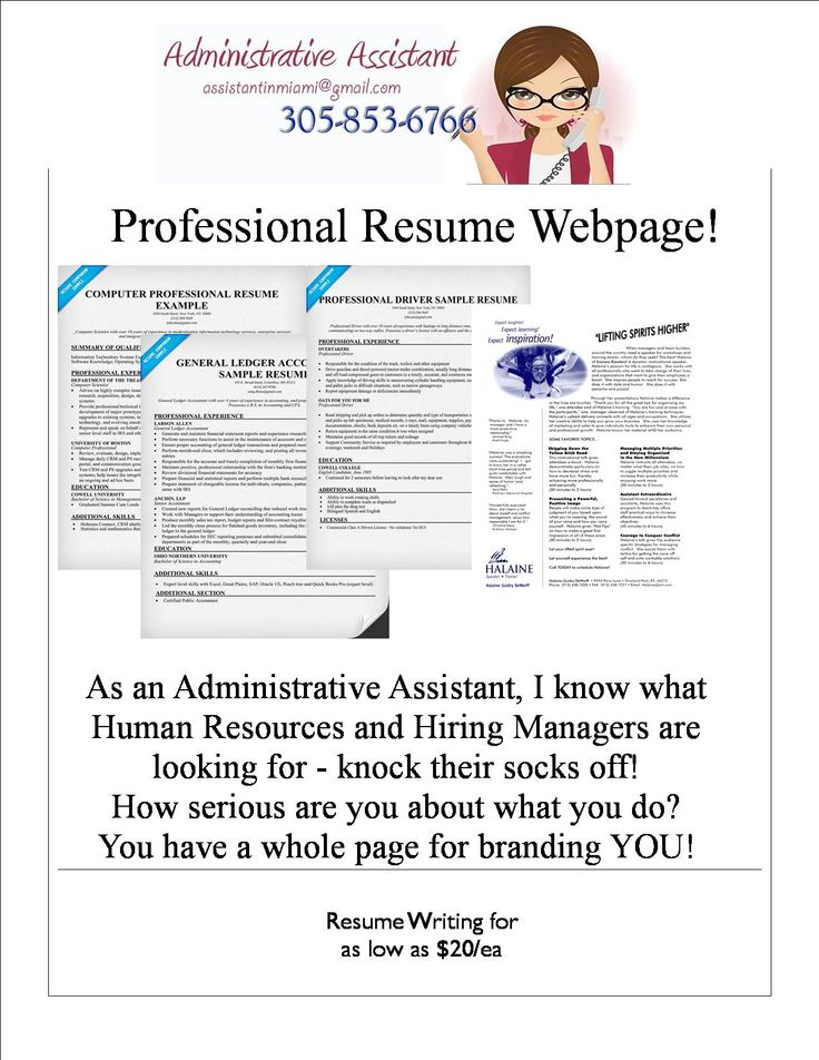 7 best Freelance Administrative Assistant images on Pinterest - freelance resume writing