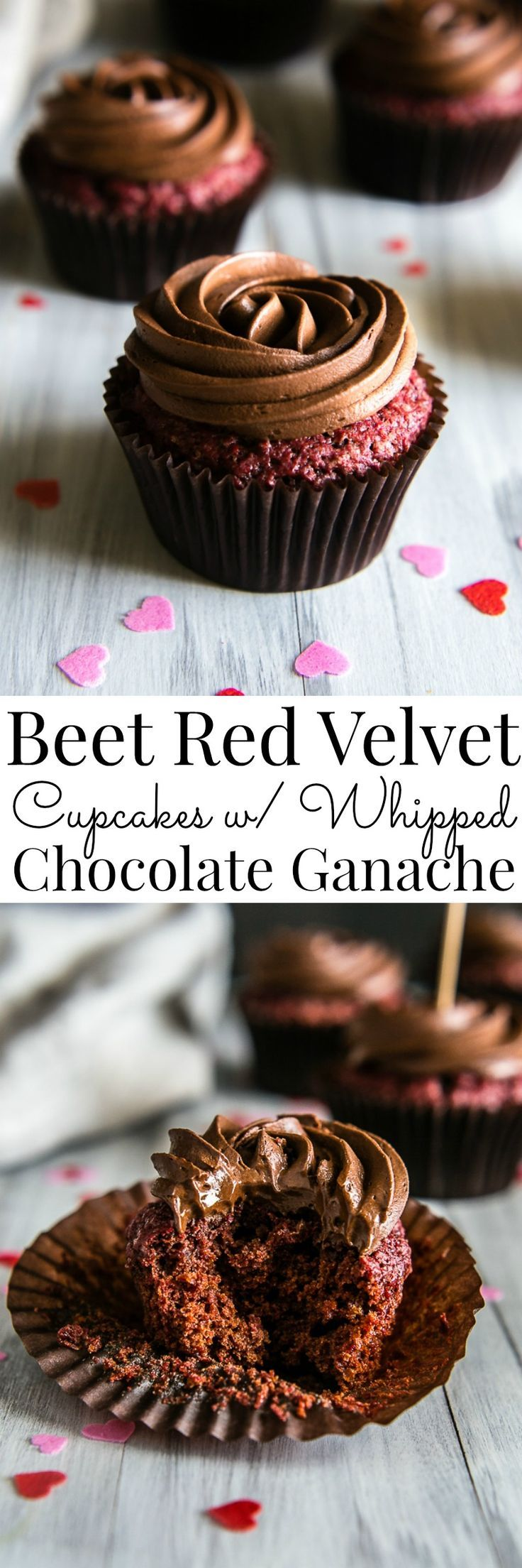 Vegan cupcakes made with beets and no synthetic dye to bring out the most…