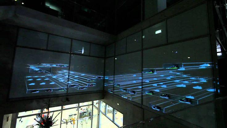 Nike Store 吉祥寺の10周年イベント「NIKE KICHIJOJI 3D ILLUMINATION」。 店舗のショーウィンドーを利用した3D Projection Mappingで、「好きに走れ」を表現。 2011年文化庁メディア芸術祭エンターテインメント部門 審査委員会推薦作品