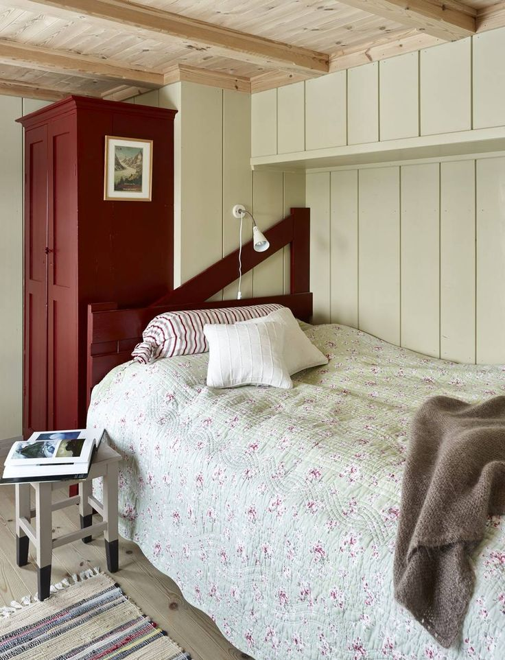 Guestroom in our cabin Fjellhytta.