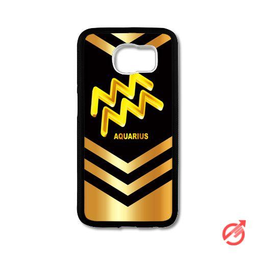 Zodiac Gold Aquarius Samsung Cases #iPhonecase #Case #SamsungCase #Accessories #CellPhone #Cover #samsung