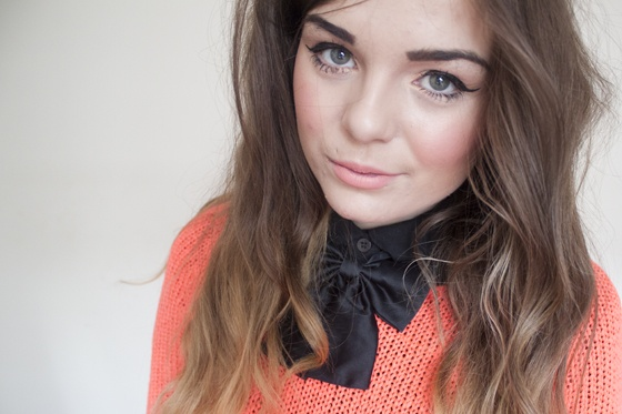 LLYMLRS // UK Style and Fashion Blog: neon jumper II