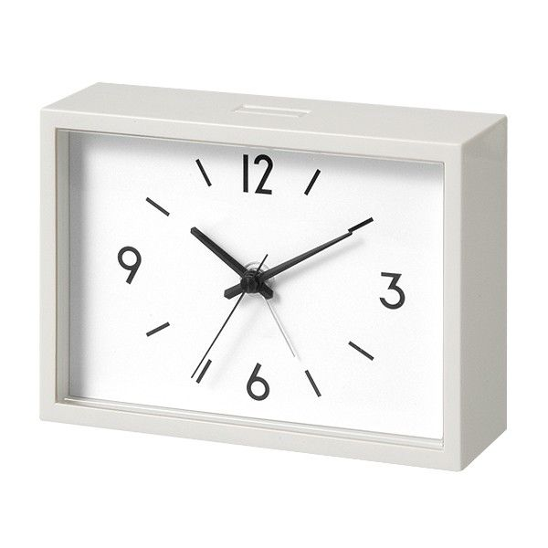 alarm clock from Muji