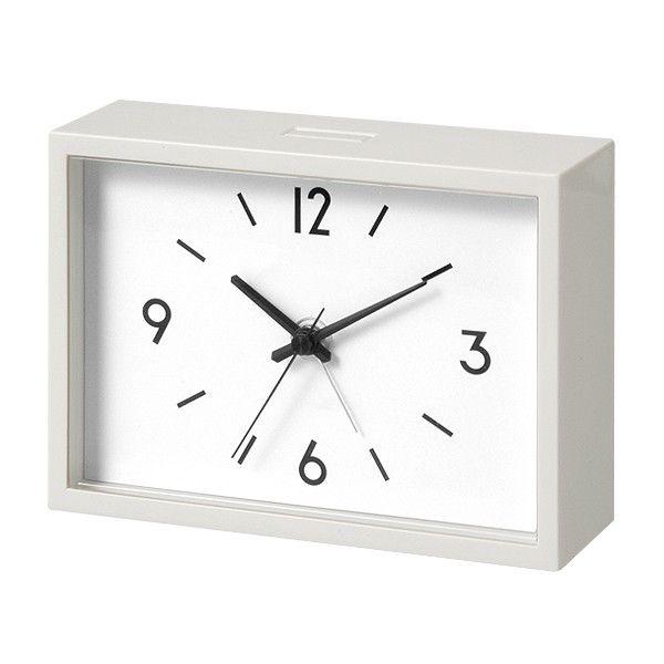 alarm clock from Muji