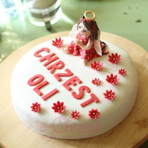 Tort na chrzest #ChrzestPrzyjęcie