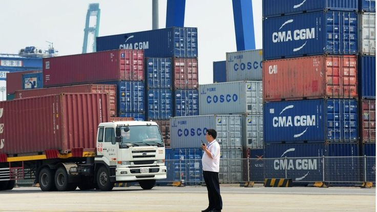China's imports drop for the twelfth month in a row in further signs of sluggish domestic demand.