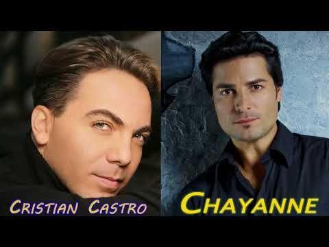 Chayanne y Cristian Castro Sus Mejores Baladas Románticas Chayanne y Cristian Castro Grandes Éxitos - YouTube