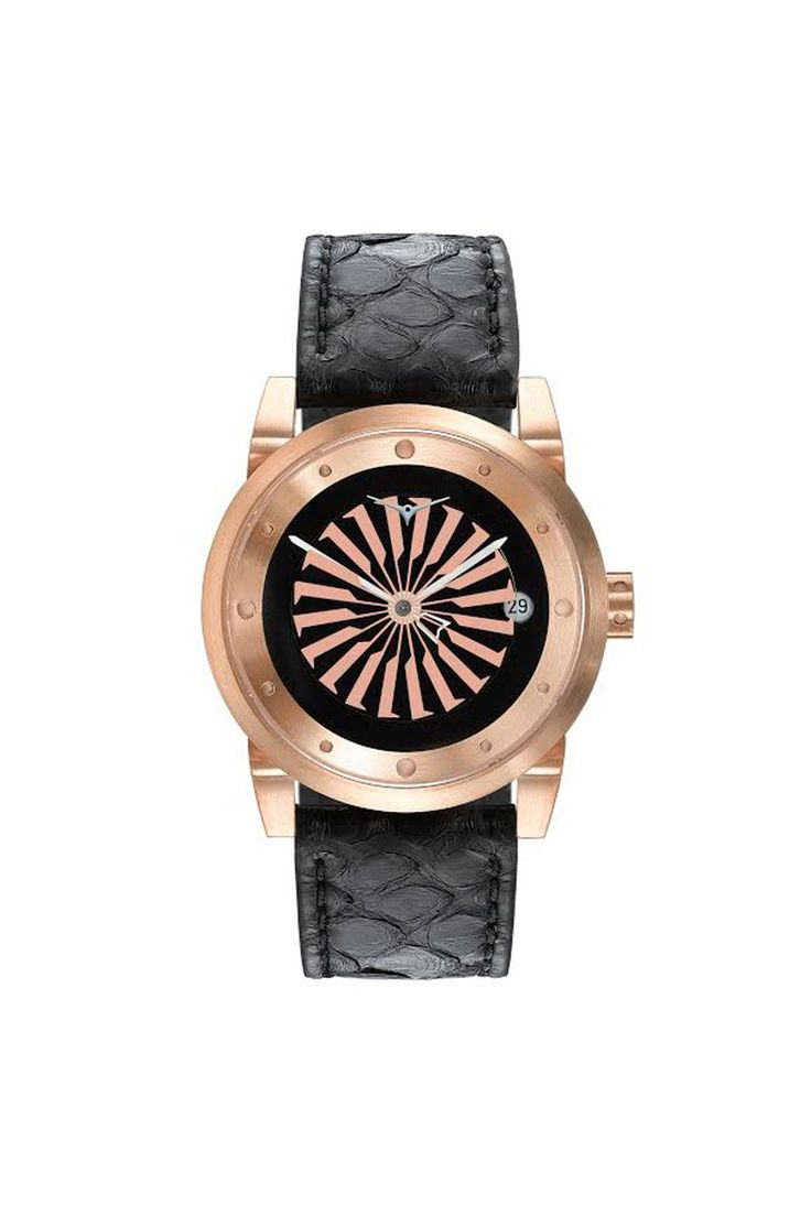 Zinvo Womens Blade Watch - Rose Gold