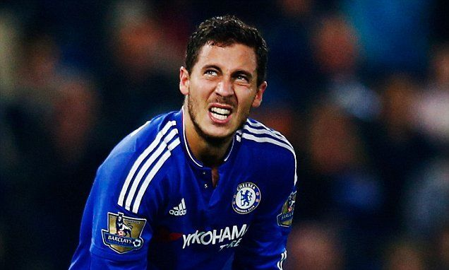 EDEN HAZARD: I can't really explain why I am going through a difficult spell at Chelsea...