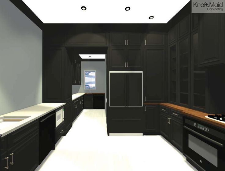 Rendering Of Kraftmaid Cabinetry For The House Beautiful 2014 Kitchen Of The Year