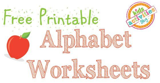 Let's learn the ABC's with these free printable alphabet worksheets! There are a lot of great ways your kids can learn the alphabetbut somewhere along the line they will have to take a pen in their hand andwork on writing their ABC's. Alphabet Worksheets Altogether there are more than 200 pages of alphabet activities just …